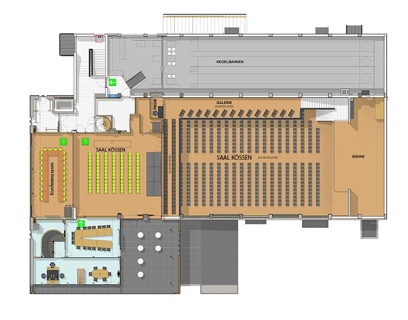 Plan Raiffeisensaal