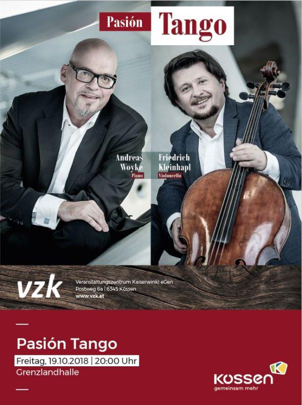 Pasión Tango – Cello & Klavier