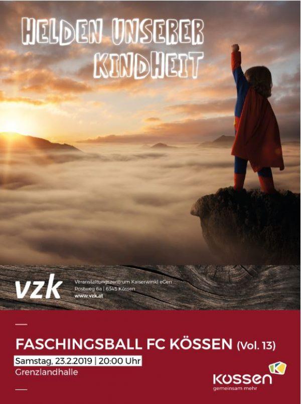 Faschingsball Vol. 13 des FC KÖSSEN
