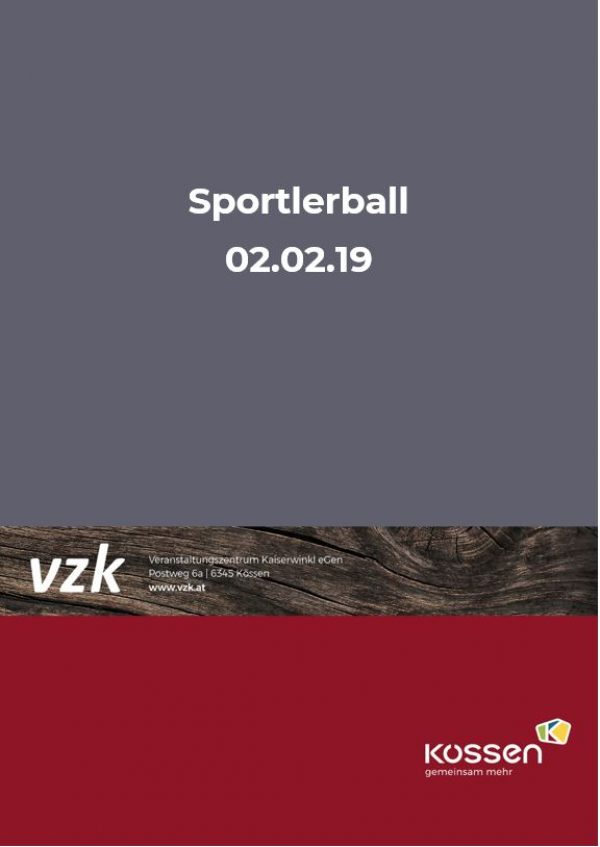 Sportlerball 2019