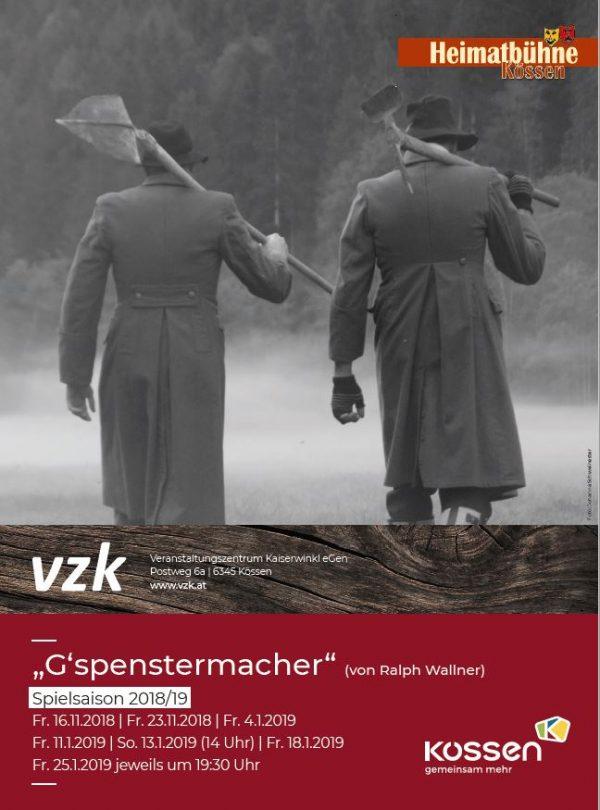 Heimatbühne Kössen – GESPENSTERMACHER