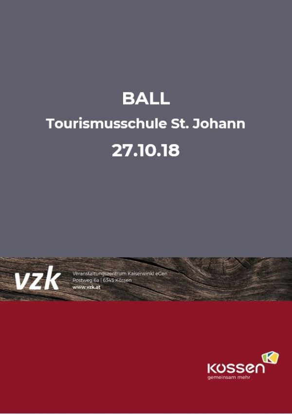 BALL der Tourismusschule St. Johann