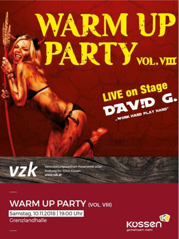 Warm Up Party vol. VIII – Unterberg-Pass KÖSSEN