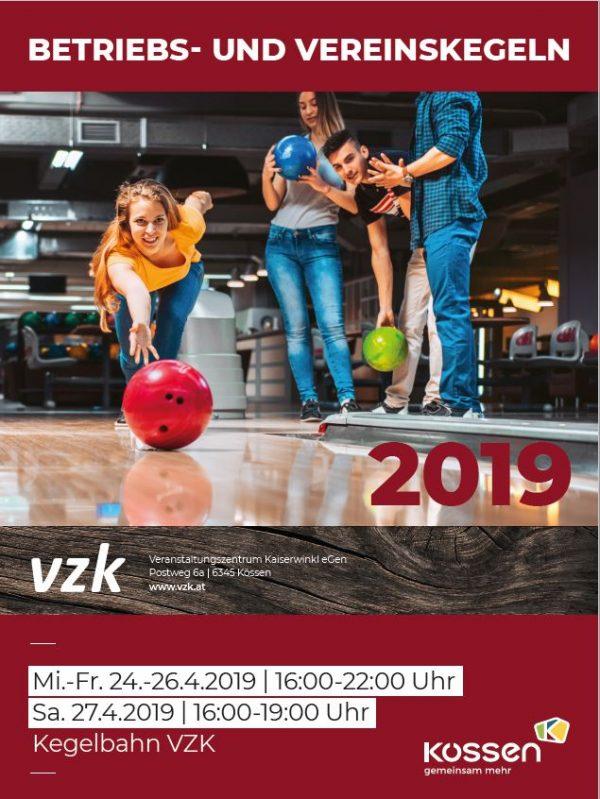 Betriebs- und Vereinskegeln 2019