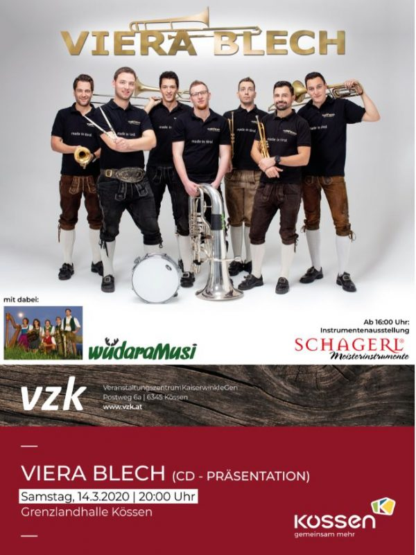 VIERA BLECH – CD PRÄSENTATION 2020