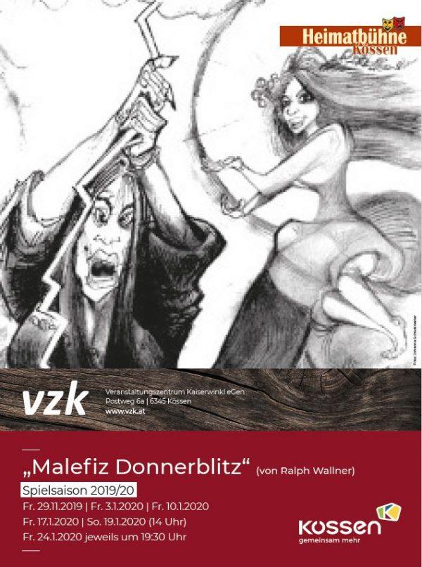 Heimatbühne Kössen – Malefiz Donnerblitz