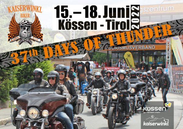 37th Days of Thunder – HD Treffen 15.-18. Juni 2022